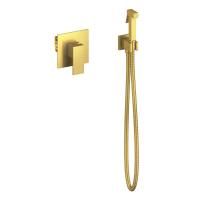Смеситель встраиваемый с гигиеническим душем TIMO Selene 2089/17SM Gold