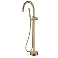Смеситель для ванны напольный Boheme 209 Bronze