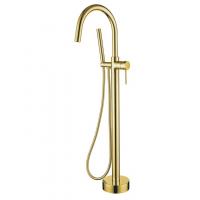 Смеситель для ванны напольный Boheme 219 Gold