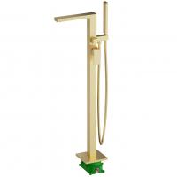 Смеситель для ванны напольный TIMO Selene 2210/17Y-CR Gold