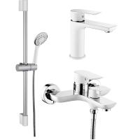Комплект для ванной комнаты GANZER SUSANNE GZ21037F WHITE\CHROME