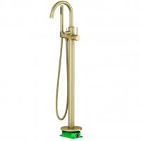 Смеситель для ванны напольный TIMO Saona 2310/17Y-CR Золото матовое