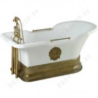 Ванна Migliore Impero Podium на подиуме, фурнитура бронза 25809
