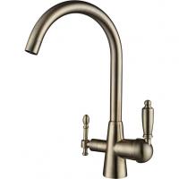Смеситель для кухни под фильтр Kaiser Vincent 31744-3 Bronze
