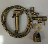 Гигиеническая лейка в наборе GANZER GZ2011D SET BRONZE