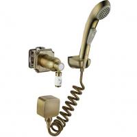 Смеситель встраиваемый с гигиеническим душем Elghansa Terrakotta 34C0786-Bronze (Set-41)