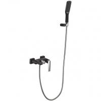 Смеситель для ванны Boheme Venturo 373-B Черный/Хром