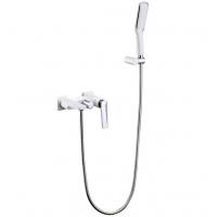 Смеситель для ванны Boheme Venturo 373-W Белый/Хром