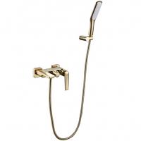 Смеситель для ванны Boheme Venturo 383 Золото