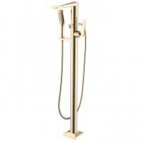 Смеситель для ванны напольный Boheme Venturo 389 Золото