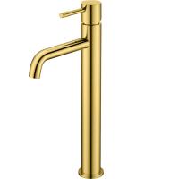 Смеситель для раковины Boheme Uno 462-G Золото