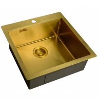 Кухонная мойка ZorG Light ZL R 510510 Bronze
