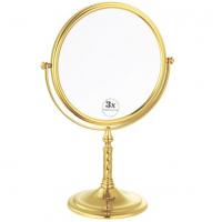 Зеркало настольное увеличительное Boheme Imperiale 504 золото