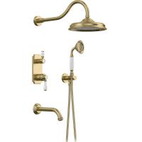 Душевая система Elghansa Terrakotta 54C0986-Bronze (Set-26)