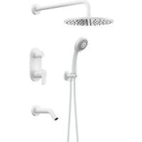 Душевая система Elghansa 54R1783-White (Set-19)