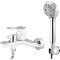 Смеситель для ванны Kaiser Atrio 60022 White-Chrome