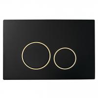 Клавиша для инсталляции Boheme 663 Black - Gold