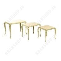 Набор из трех столиков Stilars 804 Gold