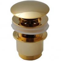 Донный клапан для раковины Remer 905CC2114DO Золото