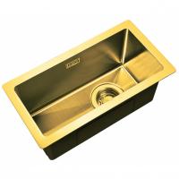 Интегрированная кухонная мойка ZorG Light ZL R 230440 Bronze