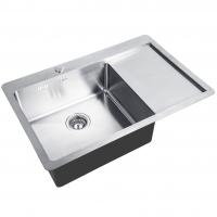 Кухонная мойка Zorg INOX HD 7851- L Chrome