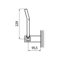 Душевая лейка Webert Comfort AC0114015 Хром