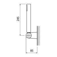 Душевая лейка Webert AC0116015 Хром