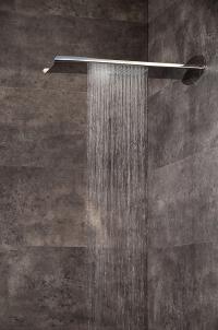Излив настенный Webert Aria AC0741845 Полированная сталь
