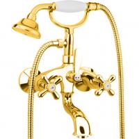 Cмеситель для ванны Webert Armony AM720201010 Золото