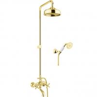 Душевая система Webert Armony AM721208010 Золото