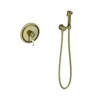 Смеситель встраиваемый с гигиеническим душем TIMO Arisa 5309/02SM Antique