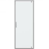 Душевая дверь в нишу с одной распашной дверью Bravat Drop BD080.4110A Хром