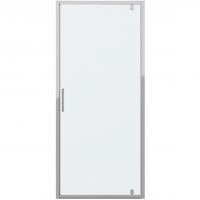 Душевая дверь в нишу с одной распашной дверью Bravat Drop BD090.4110A Хром