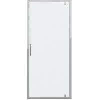 Душевая дверь в нишу с одной распашной дверью Bravat Drop BD100.4110A Хром