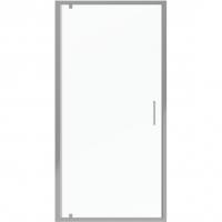Душевая дверь в нишу с одной распашной дверью Bravat Line BD100.4111A Хром