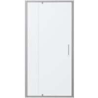 Душевая дверь в нишу с одной распашной дверью Bravat Line BD100.4112A Хром