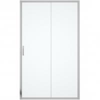 Душевая дверь в нишу с одной раздвижной дверью Bravat Drop BD120.4100A Хром