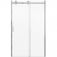 Душевая дверь в нишу с одной раздвижной дверью Bravat Wave BD120.4102S Хром