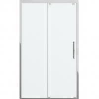 Душевая дверь в нишу с одной раздвижной дверью Bravat Stream BD120.4103S Хром