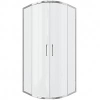 Душевой уголок с двумя раздвижными дверьми Bravat Drop BS090.1200A Хром