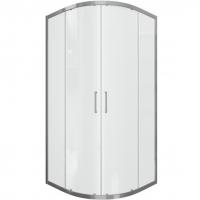 Душевой уголок с двумя раздвижными дверьми Bravat Line BS090.1201A Хром