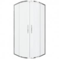 Душевой уголок с двумя раздвижными дверьми Bravat Stream BS090.1203S Хром