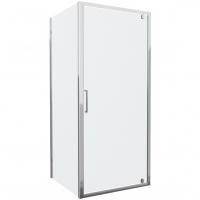 Душевой уголок  с одной распашной дверью Bravat Drop BS090.2110A Хром