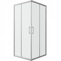 Душевой уголок с двумя раздвижными дверьми Bravat Drop BS090.2200A Хром