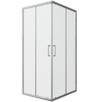 Душевой уголок с двумя раздвижными дверьми Bravat Line BS090.2202A Хром