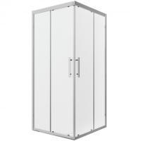 Душевой уголок с двумя раздвижными дверьми Bravat Stream BS090.2204S Хром