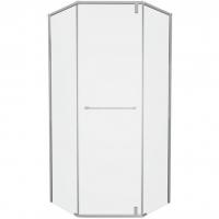 Душевой уголок с одной распашной дверью Bravat Stream BS090.6112S Хром