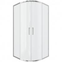Душевой уголок с двумя раздвижными дверьми Bravat Drop BS100.1200A Хром