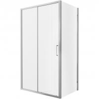 Душевой уголок с одной раздвижной дверью Bravat Line BS120.3101A Хром