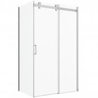 Душевой уголок с одной раздвижной дверью Bravat Wave BS120.3102S Хром